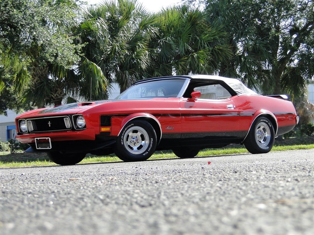 1973 ford mustang ram air