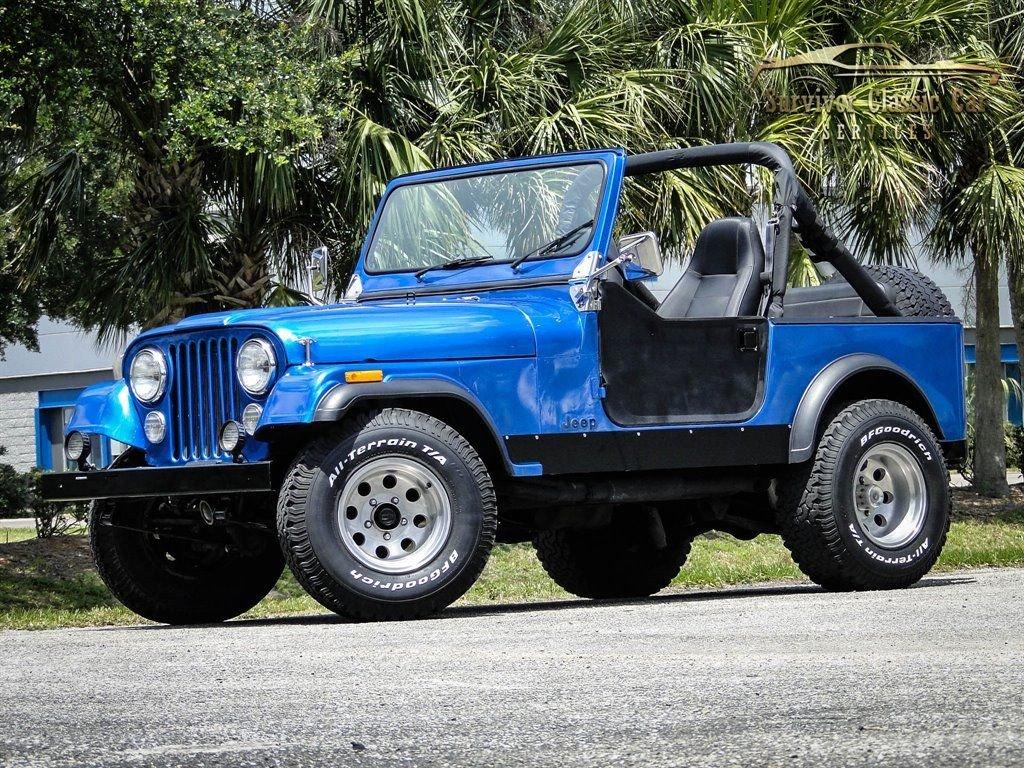1977 jeep cj7 convertible