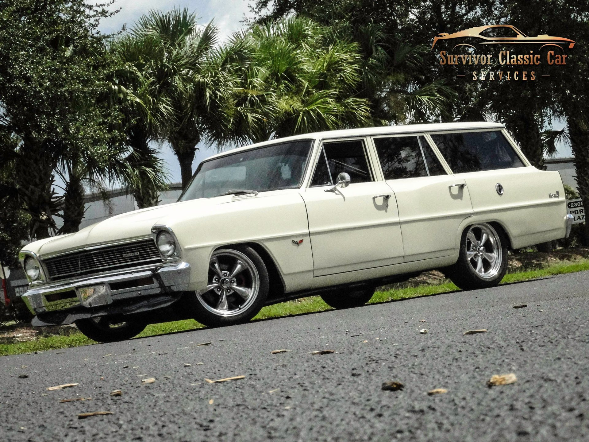 1966 chevrolet nova wagon restomod