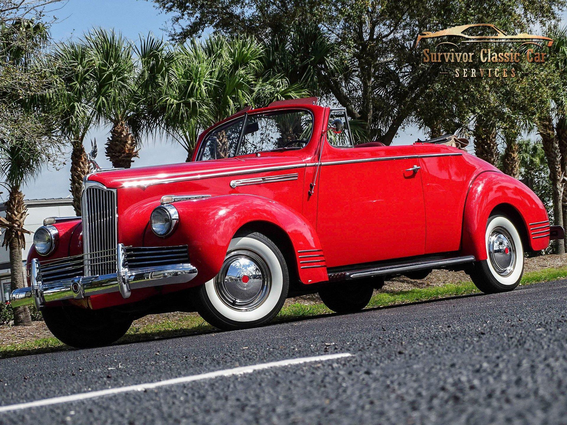 1942 packard 110 convertible