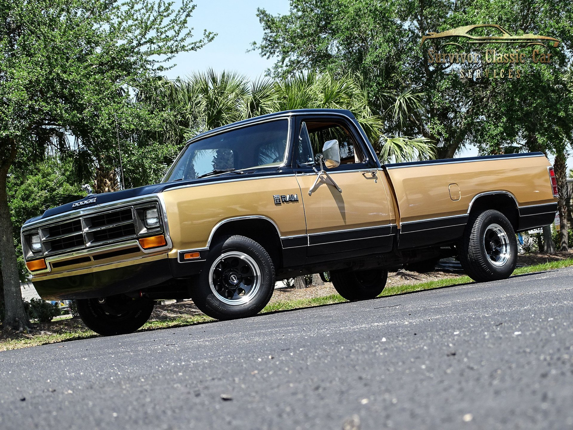 1986 dodge d100 series royal se