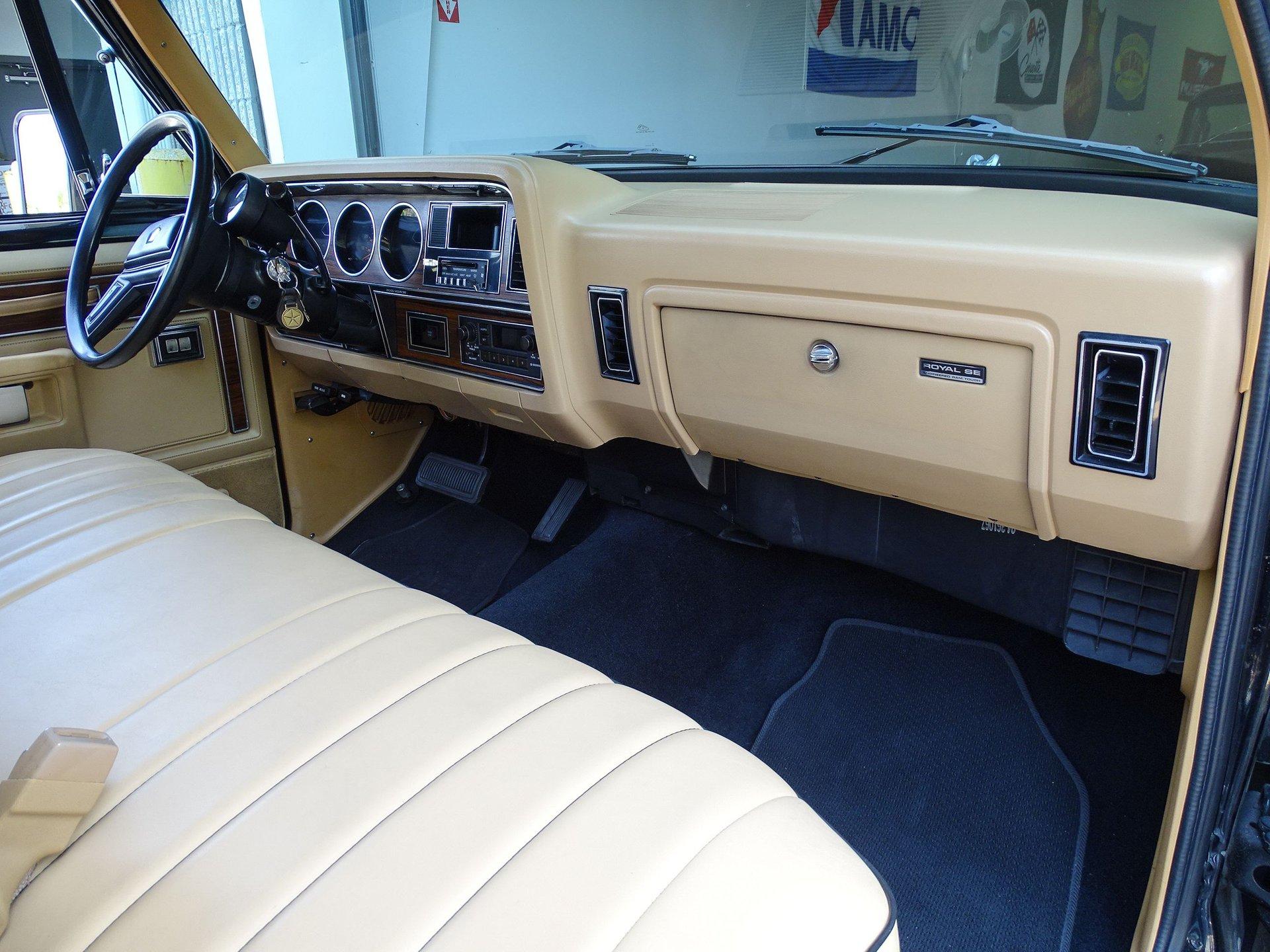 1986 Dodge D100 Series