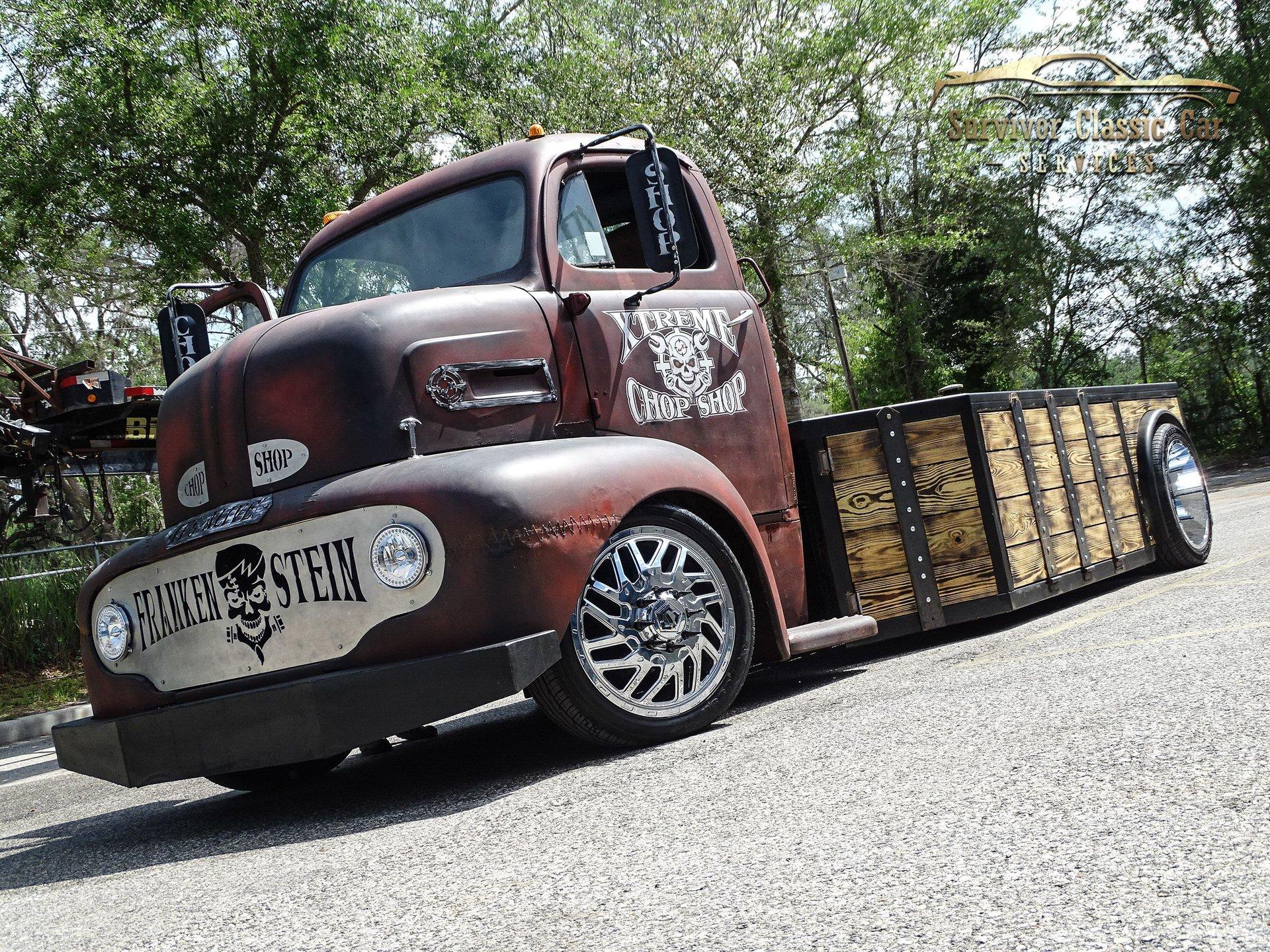 1949 ford f6 coe pickup truck