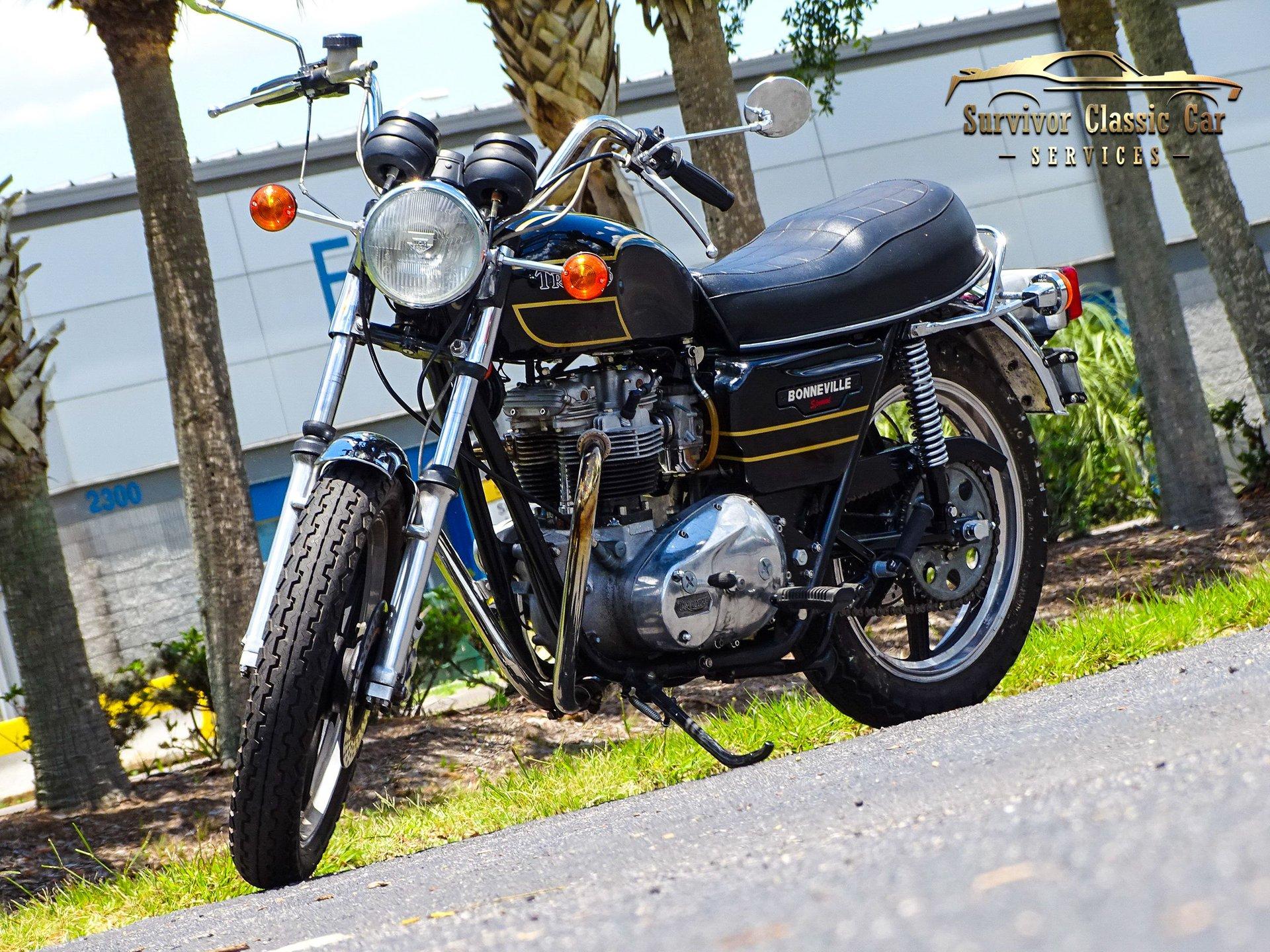1979 triumph bonneville 750 special