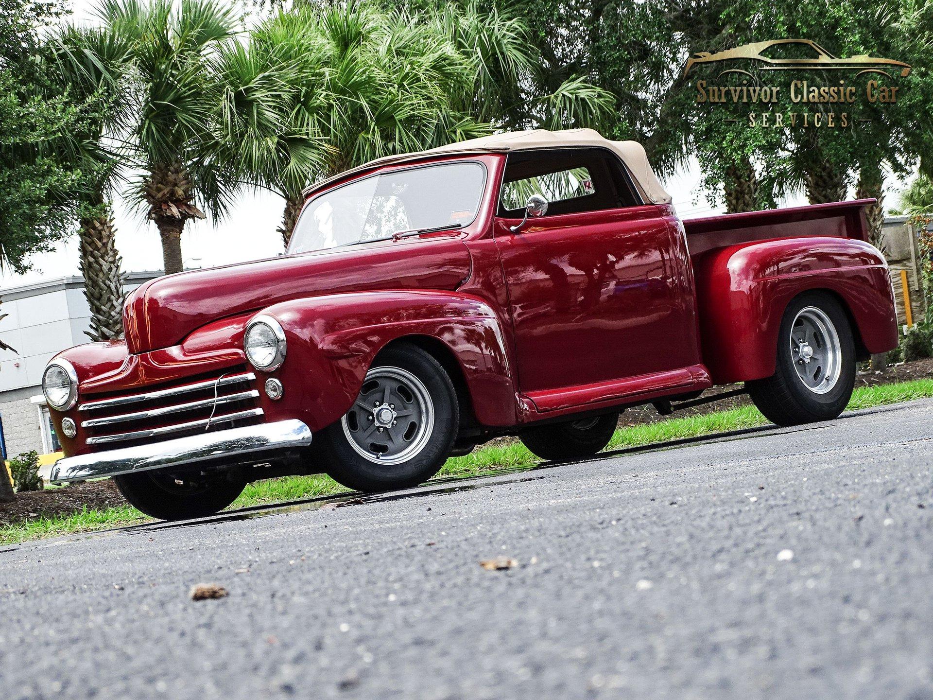 1948 ford f1 custom convertible