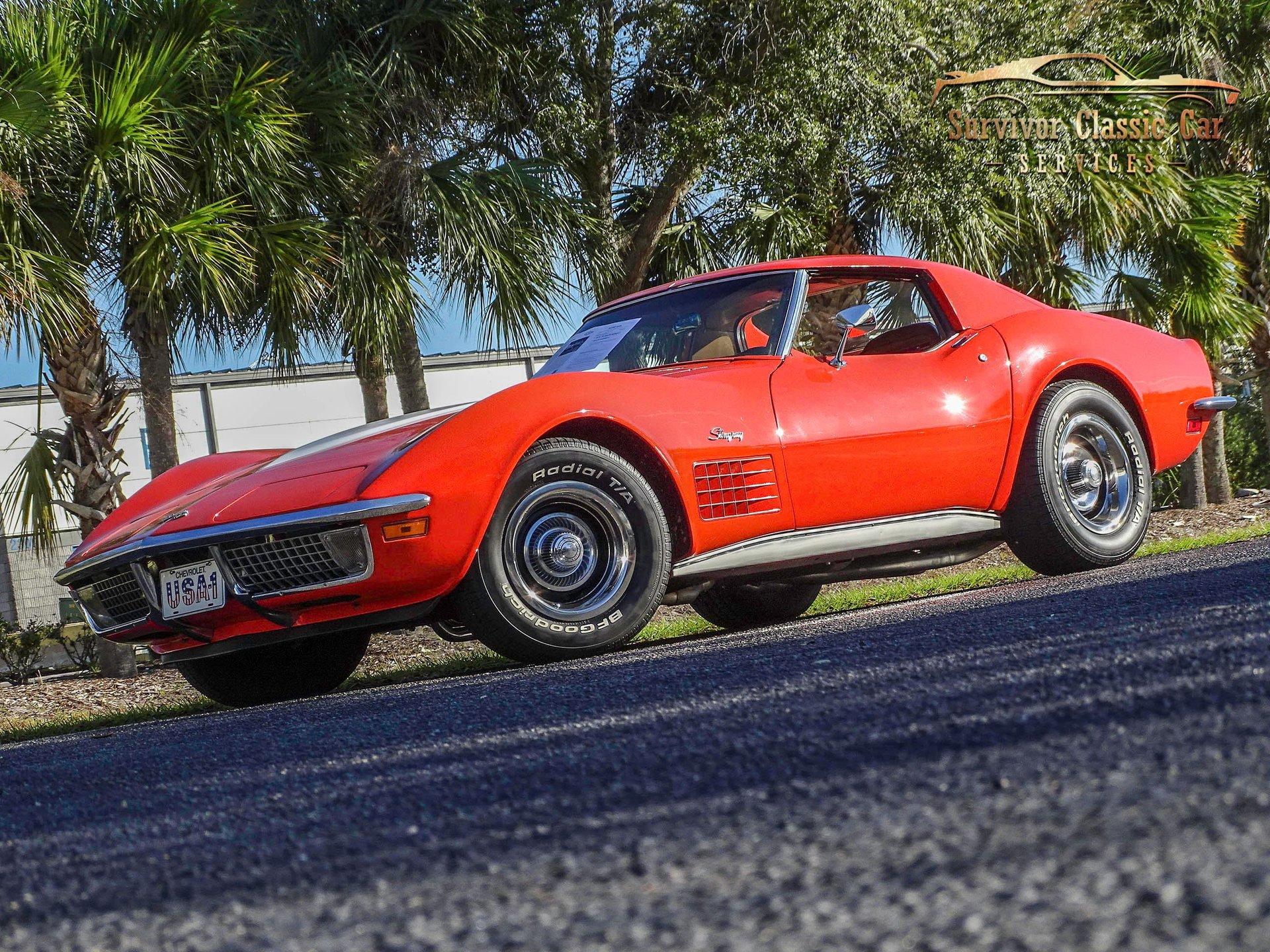 1971 chevrolet corvette 2 door hardtop