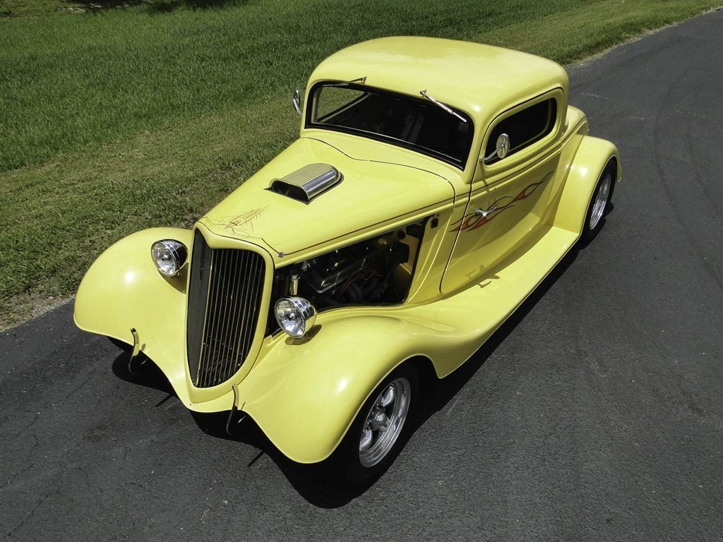 1934 Ford 3 Window