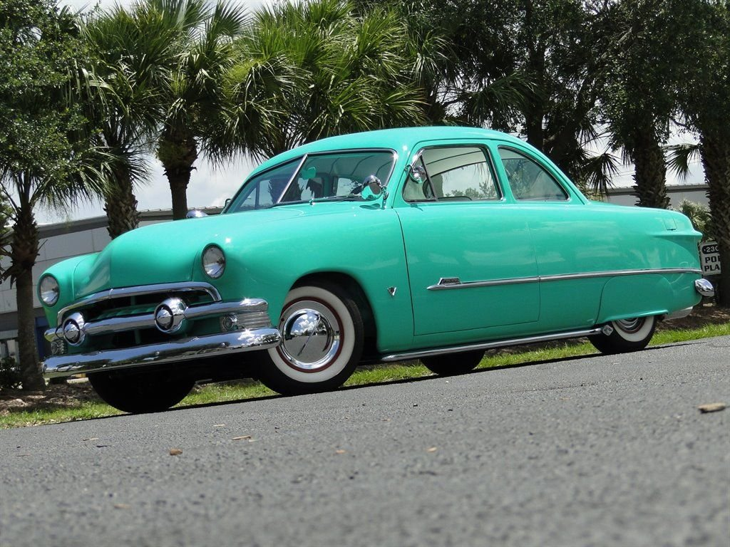 1951 ford business coupe custom