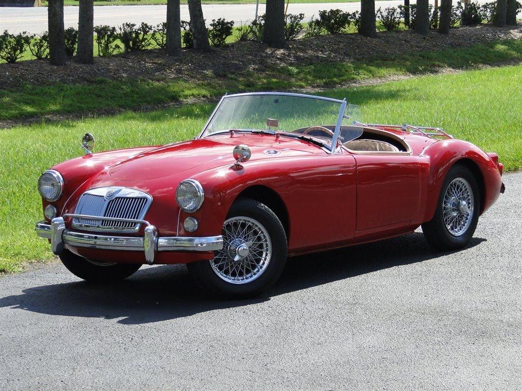 1960 MG A