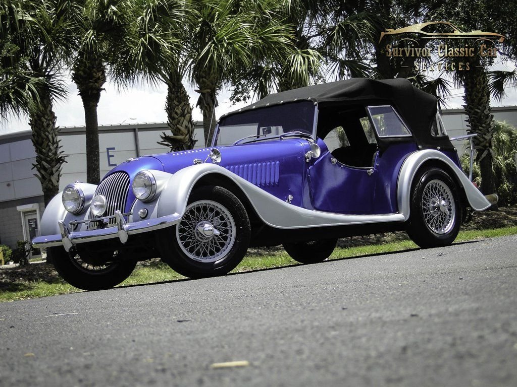 1964 morgan plus 4 roadster