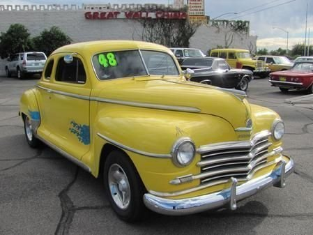 1948 plymouth business coupe street rod