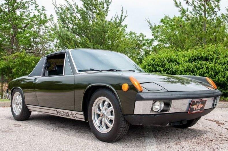 1971 porsche 914 coupe
