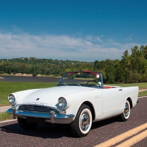 1962 Sunbeam Alpine Specialty Vehicle Dealers Association