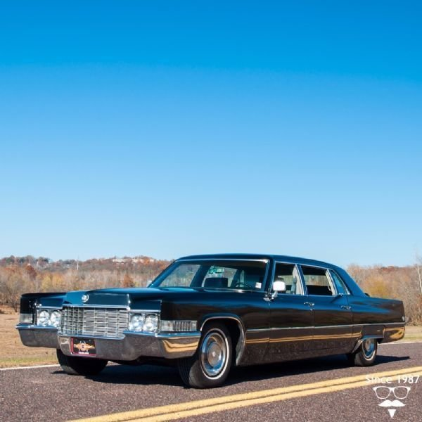 1969 cadillac fleetwood series 75 limo