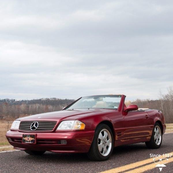 1999 mercedes benz sl500