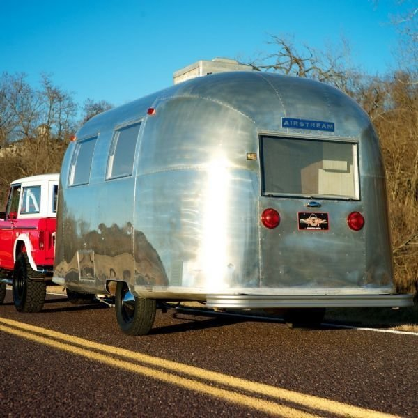 1967 Airstream Caravel Camper