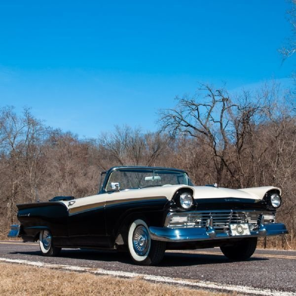1957 ford fairlane 500 restomod