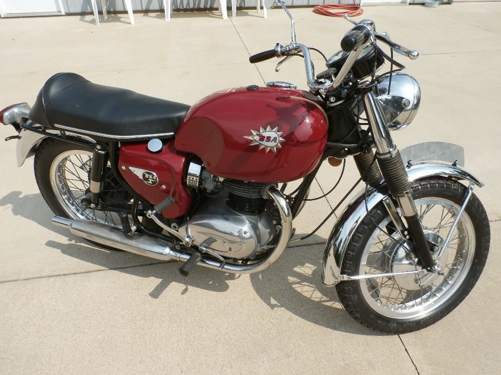 1966 bsa spitfire mark ii