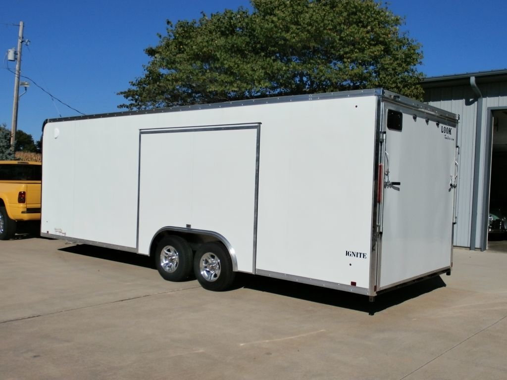 2014 look ignite race trailer