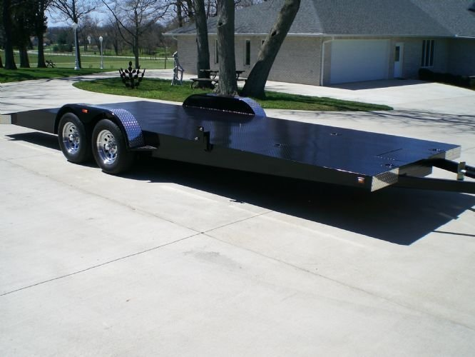 Imperial 23 Ft Car And Cart Trailer