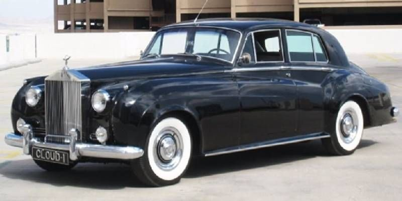 1958 rolls silver cloud i