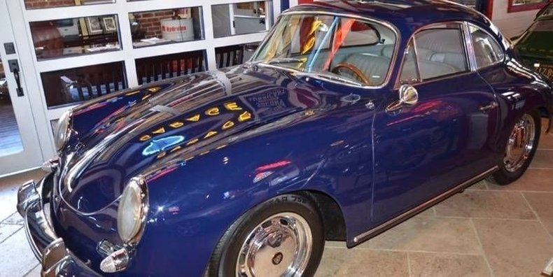 1964 Porsche Sc Sunroof