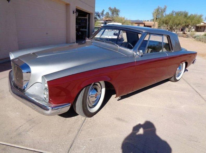 1962 Studebaker Gt Hawk Grand Turismo