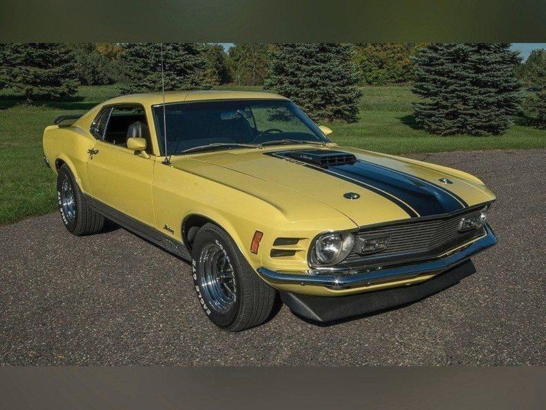 1970 Ford Mustang Mach 1 Cj
