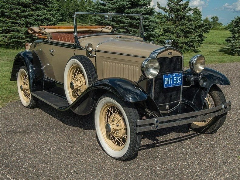 1931 Ford Model A Convertible