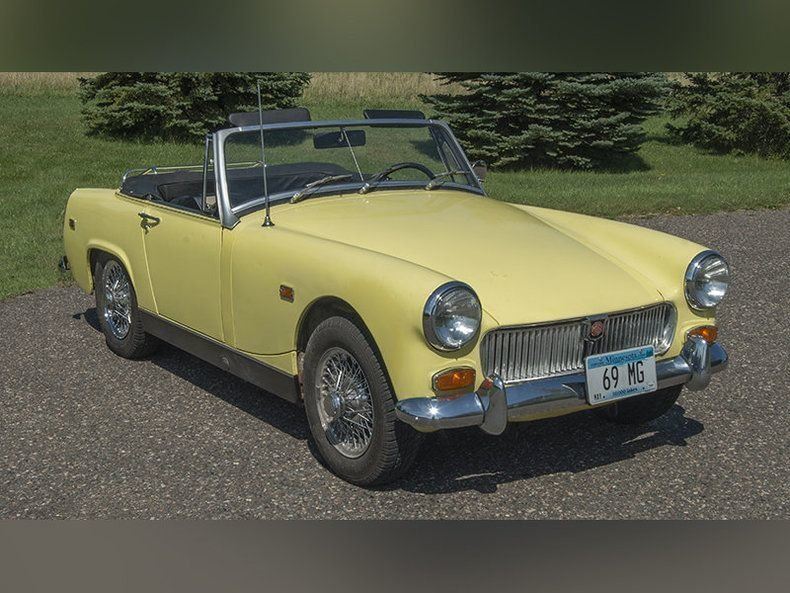 1969 mg midget convertible