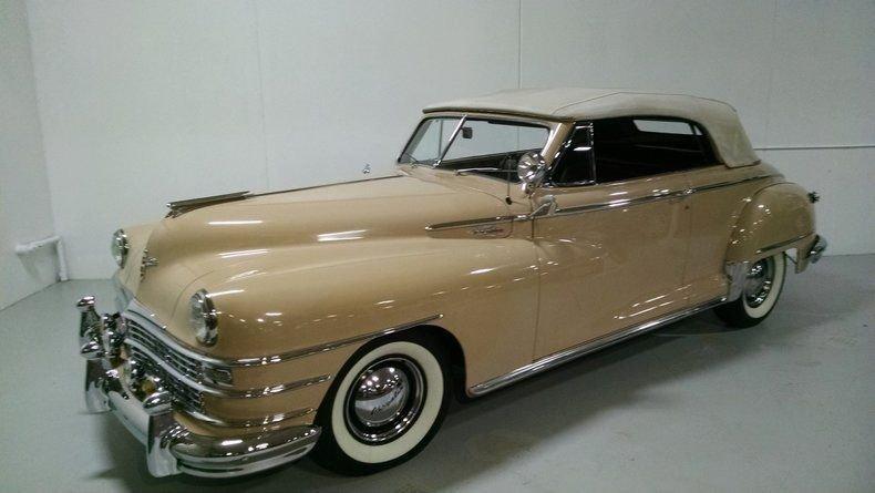 1948 Chrysler Windsor Highlander Convertible