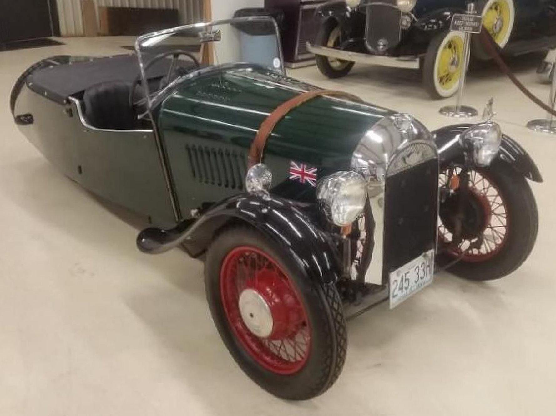 1937 morgan f4 open tourer