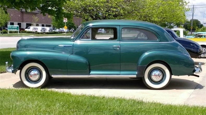 1948 chevrolet style master coupr 3spd