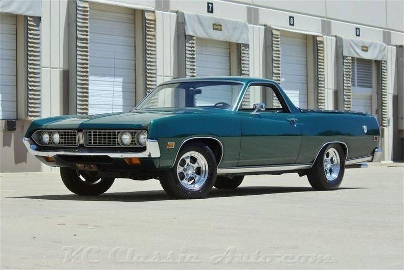 1971 ford ranchero 500 351 v8 automatic