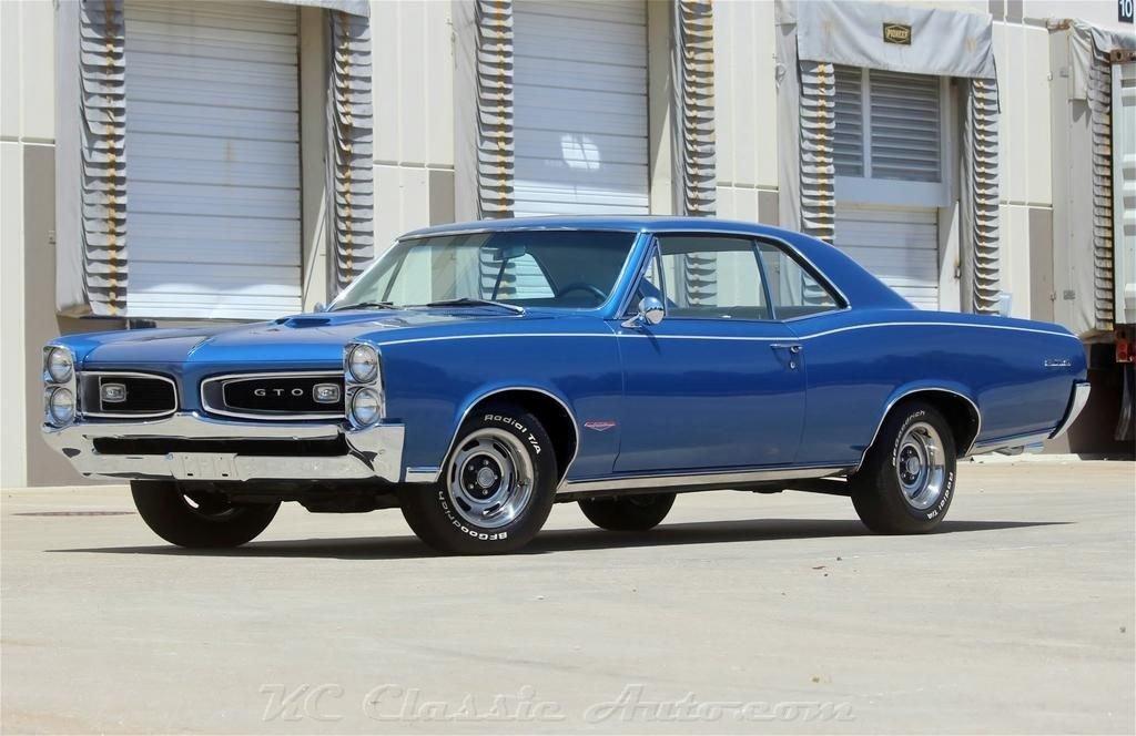 1966 pontiac gto 389 tri power complete restoration