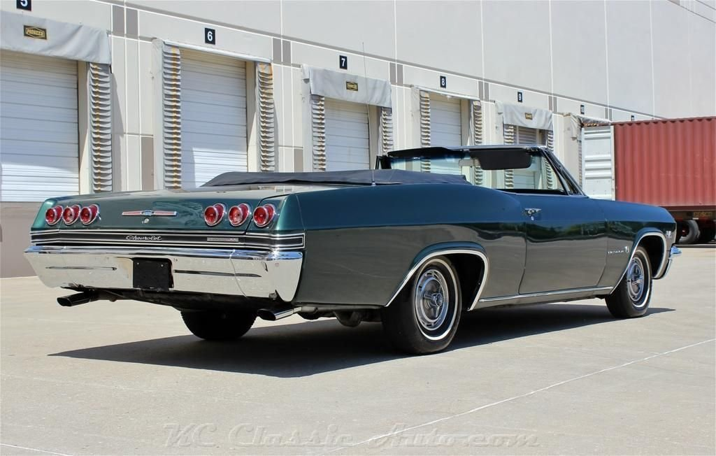 1965 chevrolet impala ss convertible big block 4spd ac