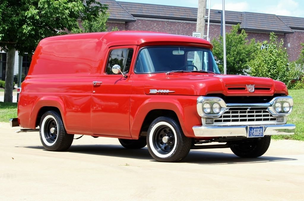 1960 ford panel van automatic