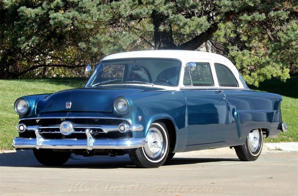 1954 ford mainline 302 v8 5spd ac