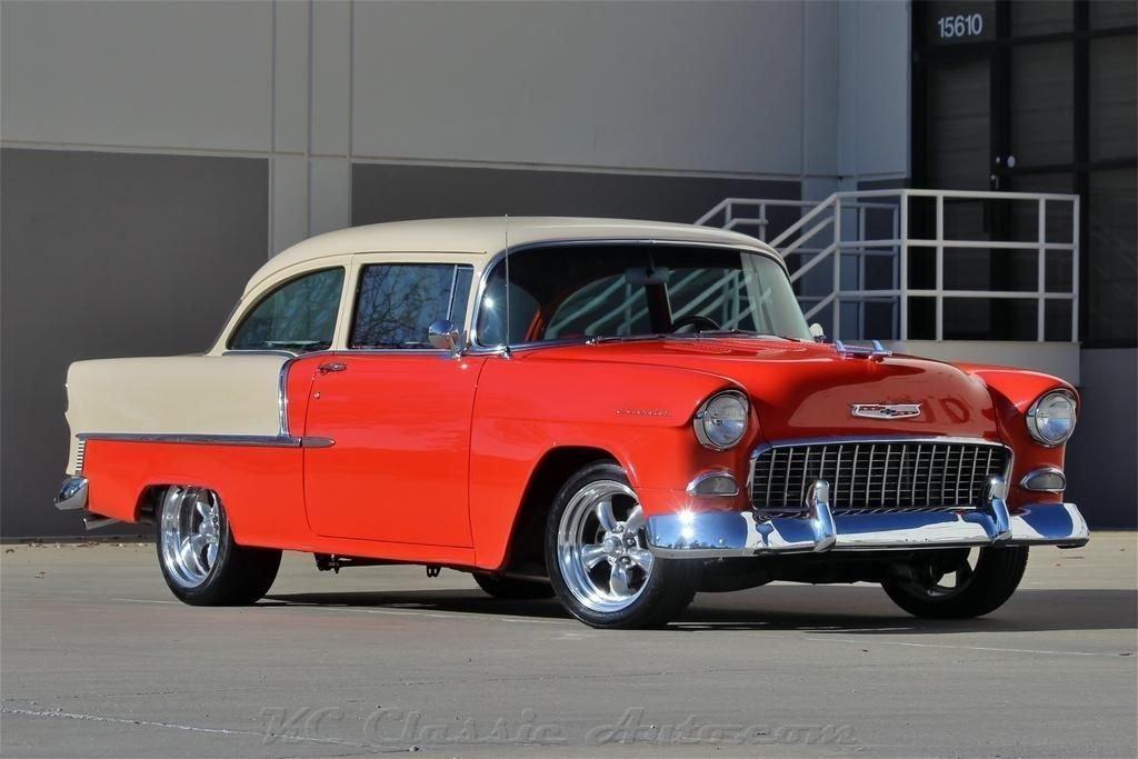 1955 chevrolet 210 350 v8 automatic ac