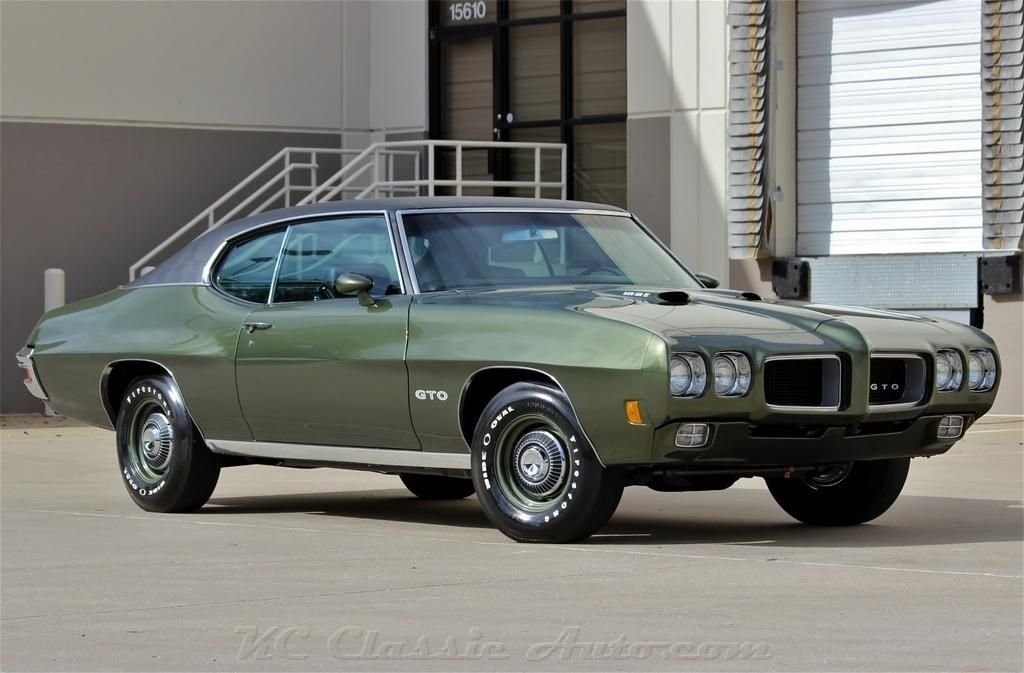 1970 pontiac gto ram air iv real raiv phs docs frame off restoration