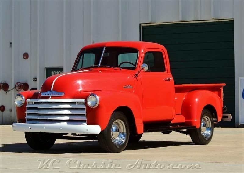 1953 chevrolet pickup 4spd