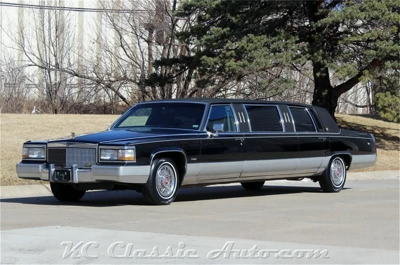 1990 cadillac limo low miles