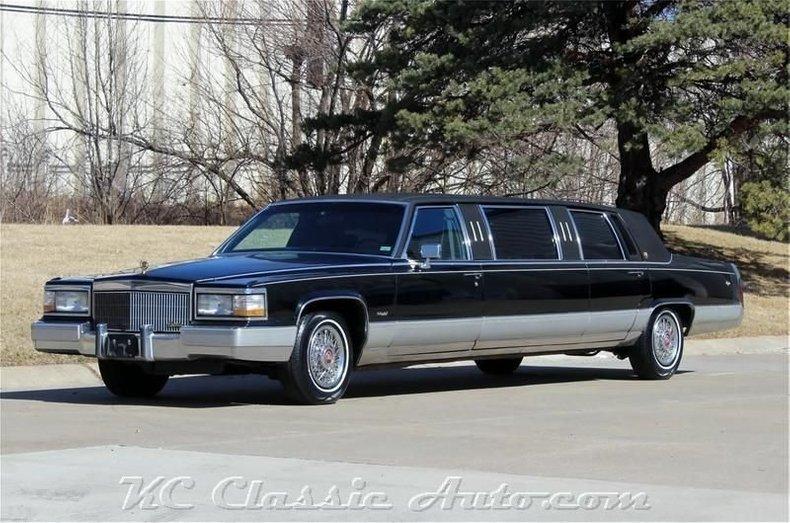 1990 Cadillac Limo