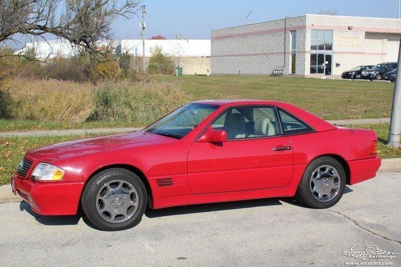 1995 mercedes benz sl class sl500