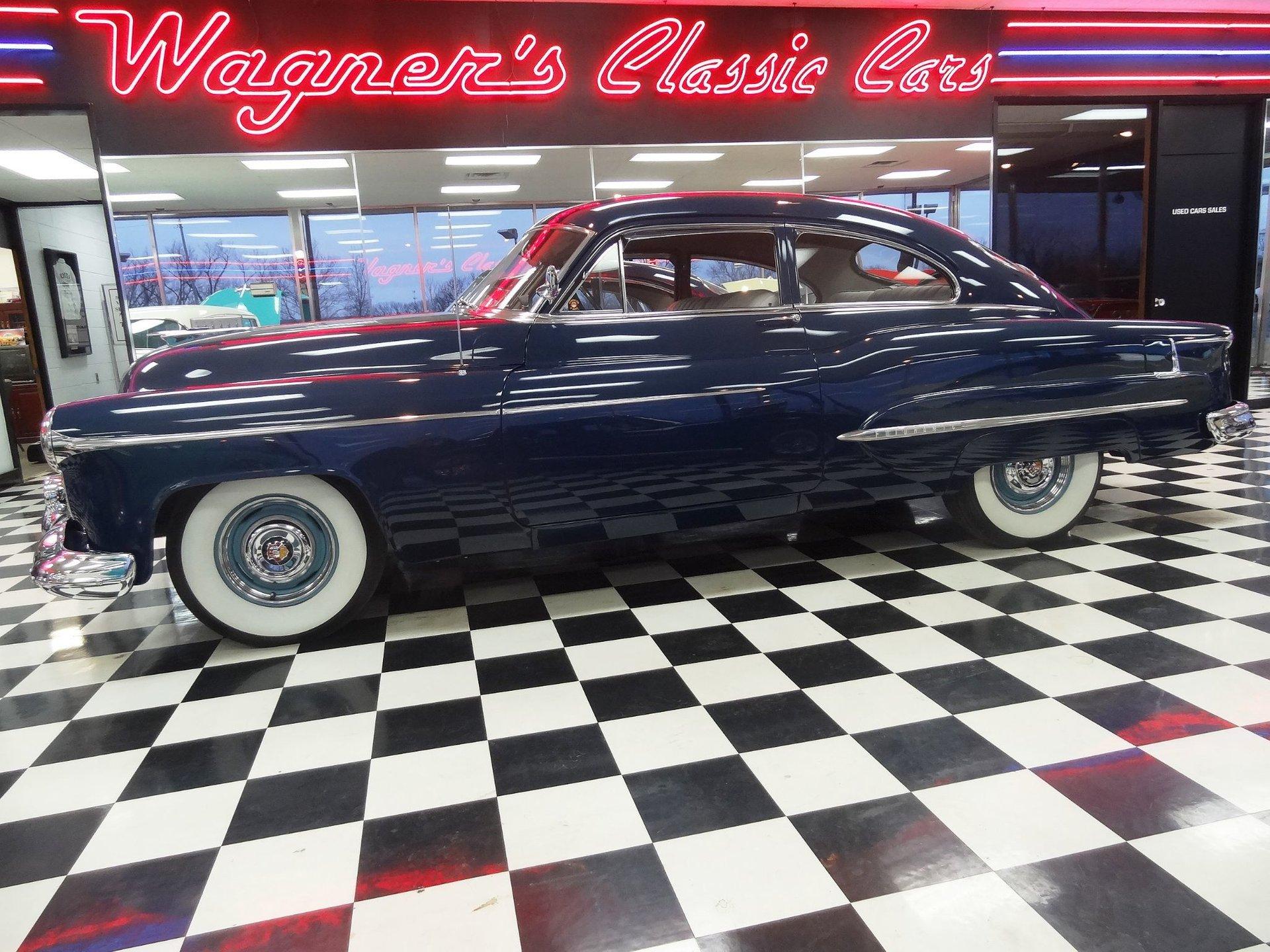 1950 oldsmobile 98 club deluxe sedan
