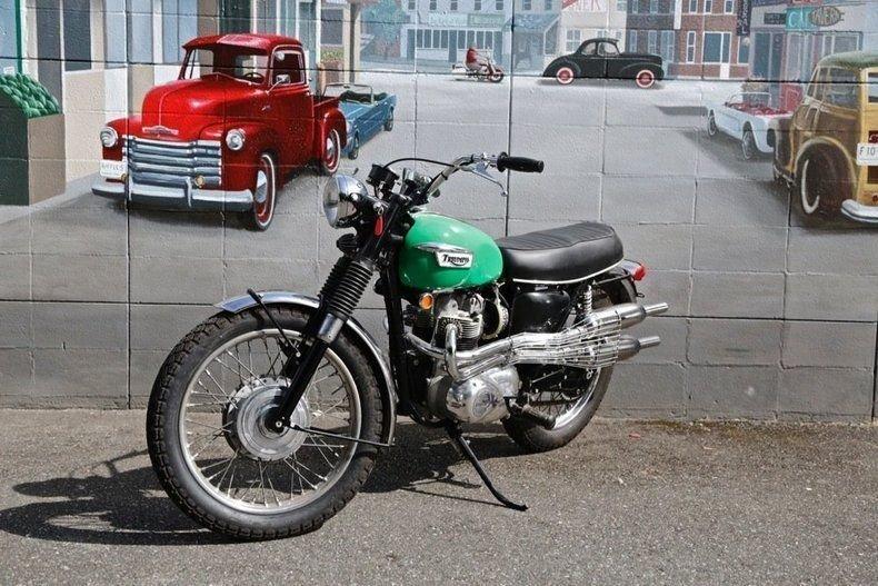 1969 Triumph T100 C