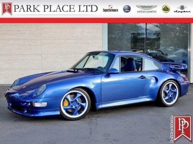 1997 porsche 911 carrera s turbo coupe