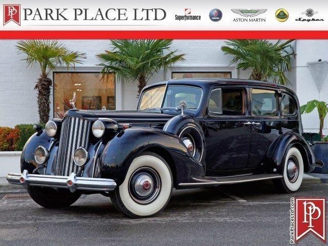 1939 packard twelve 1708 limousine