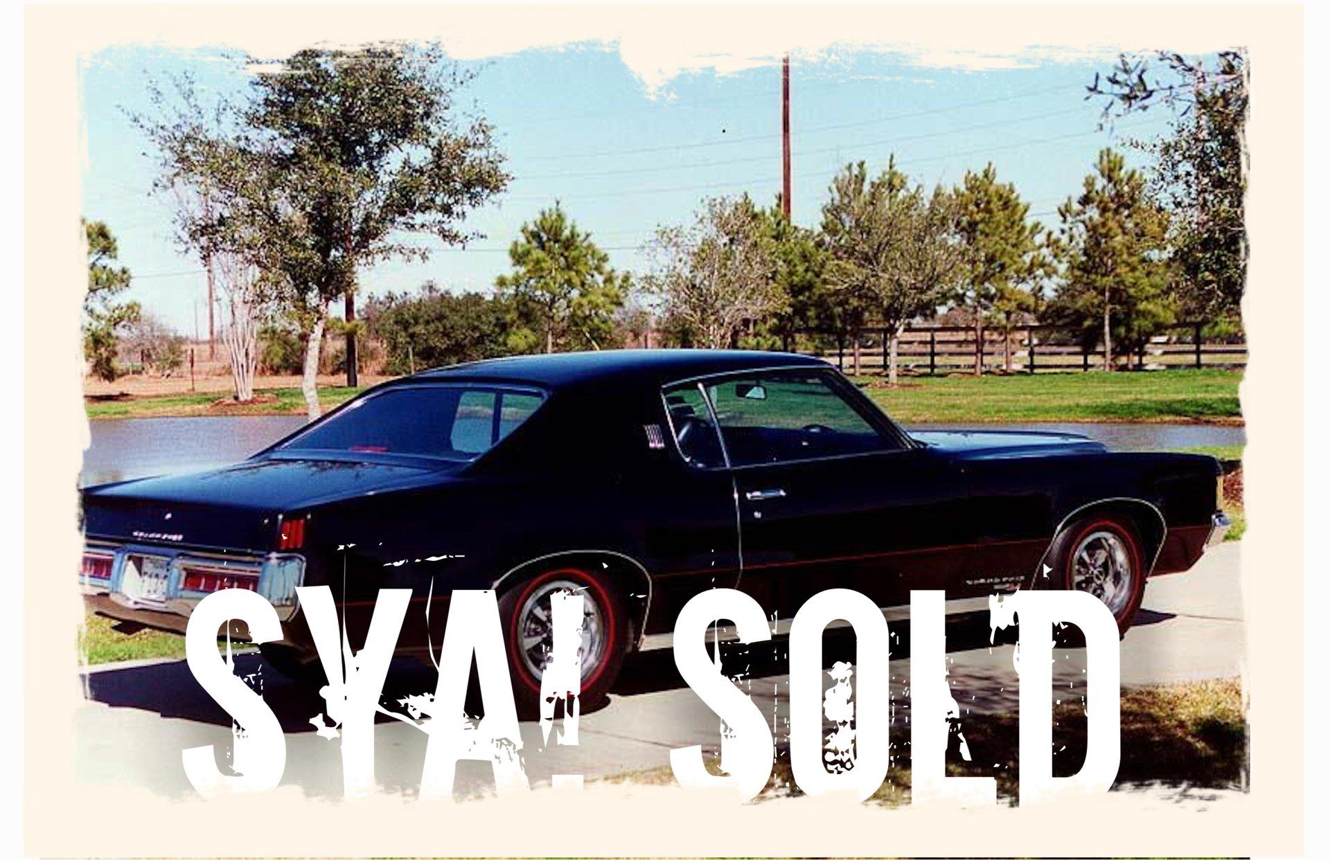 1969 Pontiac Grand Prix Sj Sya Show Your Auto Hood Tach Wiring Diagram