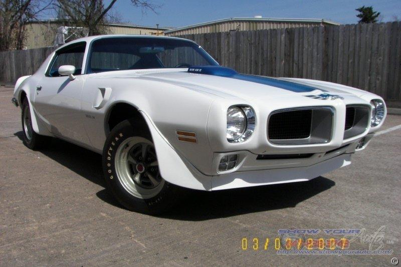 1970 pontiac trans am ram air iii